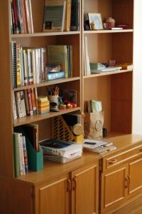 Second-hand bookshelf